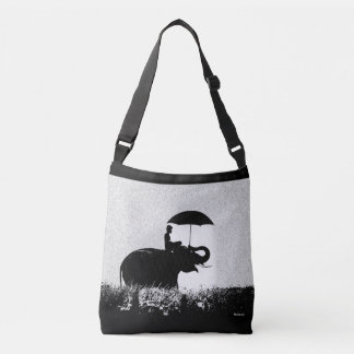 Elephant rain Art- Cross Body Bag