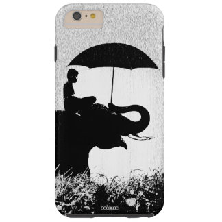 Elephant rain Art- iPhone 6/6s Plus Tough Case