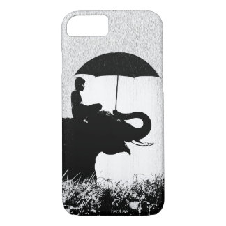 Elephant rain Art- iPhone 7 Case Barely There