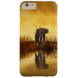 Elephant Reflection At Sunset iPhone Case