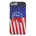 Éléphant républicain coque iPhone 6 slim