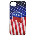Éléphant républicain étui iPhone 5