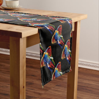 ELEPHANT RETRO STYLE SHORT TABLE RUNNER