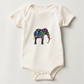 Elephant Revival Baby Bodysuit