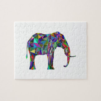 Elephant Revival Jigsaw Puzzle