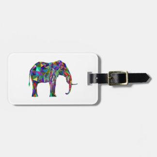Elephant Revival Luggage Tag