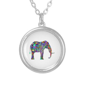 Elephant Revival Silver Plated Necklace
