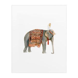 Elephant Ride Acrylic Wall Art