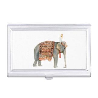 Elephant Ride Business Card Holder