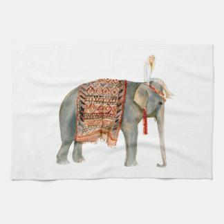 Elephant Ride Kitchen Towel