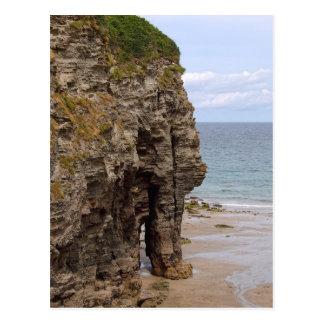 Elephant Rock, Bossiney, Cornwall Postcard