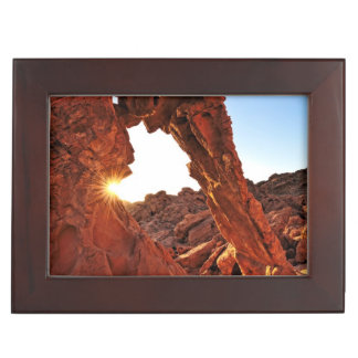 Elephant Rock in the Valley of Fire Memory Box