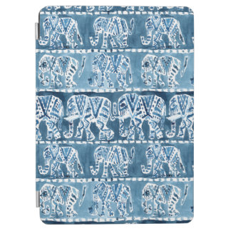 ELEPHANT SAFARI Boho Tribal Indigo iPad Air Cover