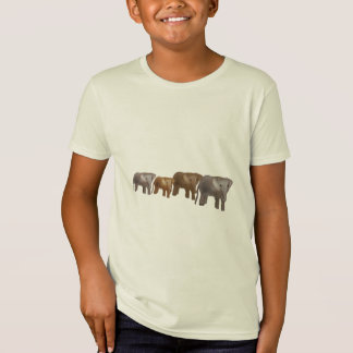 Elephant Safari Kids T-Shirts