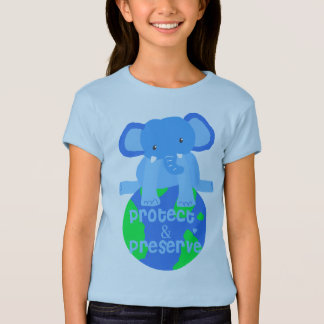 elephant save the earth T-Shirt