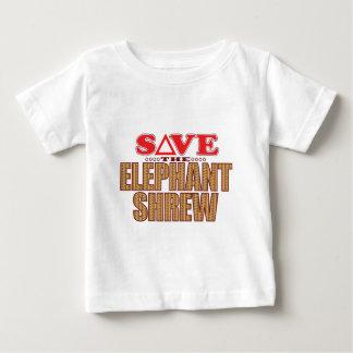 Elephant Shrew Save Baby T-Shirt