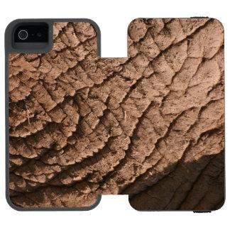 Elephant Skin Cell Phone Case Incipio Watson™ iPhone 5 Wallet Case