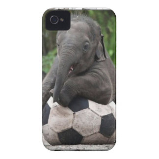 Elephant Soccer iPhone 4 Case-Mate Case