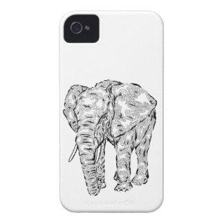 """Elephant Spirit"" v.1 - surreal totem animal iPhone 4 Case-Mate Case"