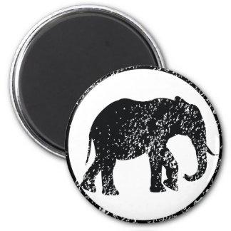 Elephant Stamp Magnet