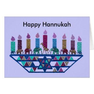 Elephant Star Menorah Cards