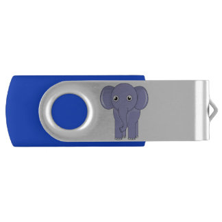 Elephant Swivel USB 3.0 Flash Drive