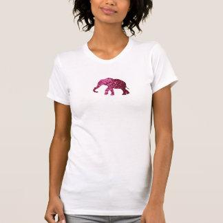 Elephant T Shirt with Glitter