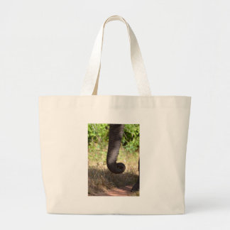 Elephant Texture Large Tote Bag