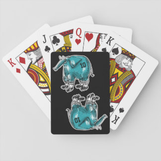 elephant the soccer player poker deck