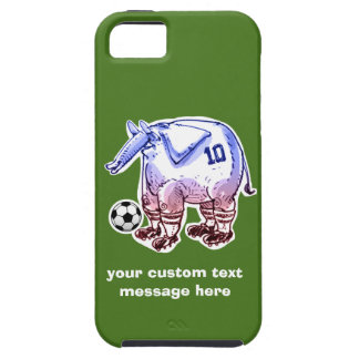 elephant the soccer player with ball iPhone 5 covers