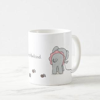 Elephant thoughtful quote mug