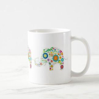 Elephant Trails White 11 oz Classic White Mug