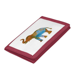 Elephant Tri-fold Wallet