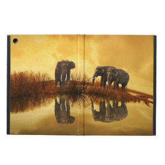 Elephant Trio Wildlife Powis iPad Air Case