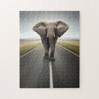 Elephant Trucker Puzzle