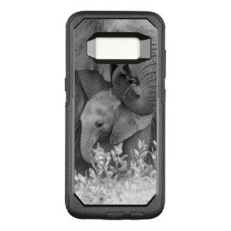 Elephant & Two Calves | Samburu OtterBox Commuter Samsung Galaxy S8 Case