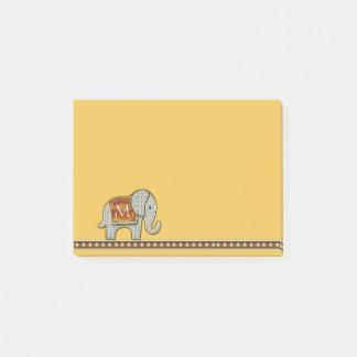 Elephant Walk Monogram Gold ID390 Post-it Notes