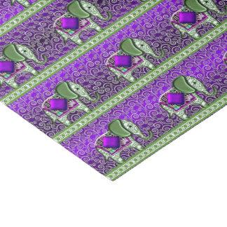 Elephant Walk Purple Swirls Tissue Paper
