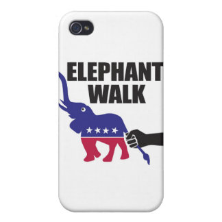 Elephant Walk (Republicans) iPhone 4 Covers