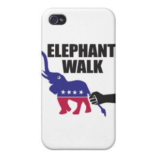Elephant Walk (Republicans) iPhone 4 Covers