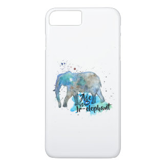 Elephant Water Color Case-Mate iPhone Case