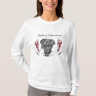 elephant wear t shirts shirt designs zazzle ca