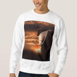 Elephant with Sunset Sweatshirt