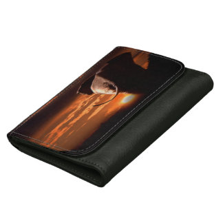 Elephant with Sunset Women's Wallet