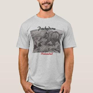 elephantCharge2, Pachyderm, Unleashed T-Shirt