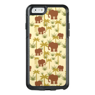 Elephants And Palms In Camouflage OtterBox iPhone 6/6s Case