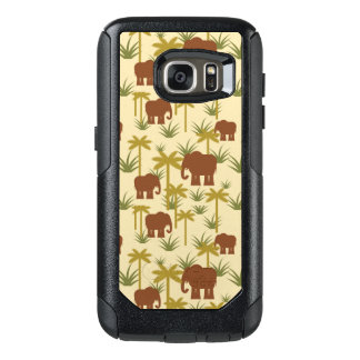 Elephants And Palms In Camouflage OtterBox Samsung Galaxy S7 Case