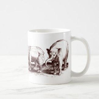 Elephants and Rhinos Mug
