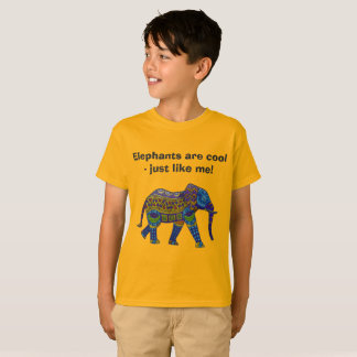 Elephants are cool - just like me! T-Shirt