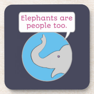 Elephants are People Too Coaster